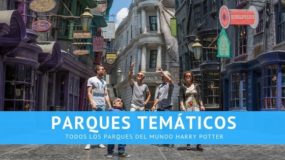 parques tematicos harry potter